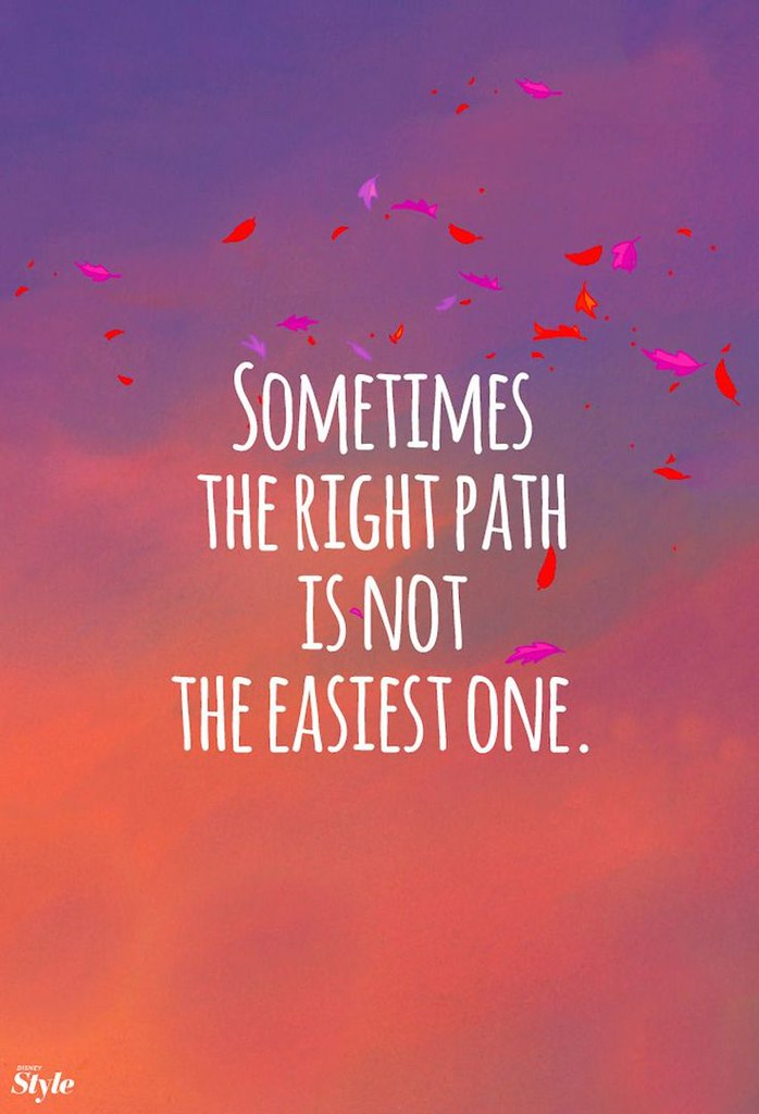 Finding The Right Path Quotes Wwwpicswecom