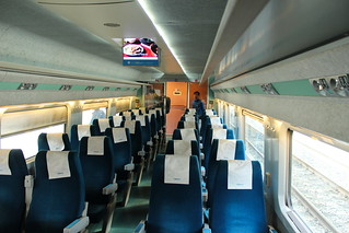 KTX train Busan-Seoul interior | by Timon91