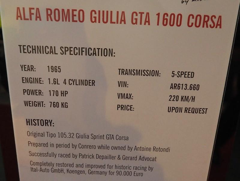 Alfa Romeo Sprint 1600 GTA 10502/A Conrero Rotondi 40304155171_95469e6fb4_c
