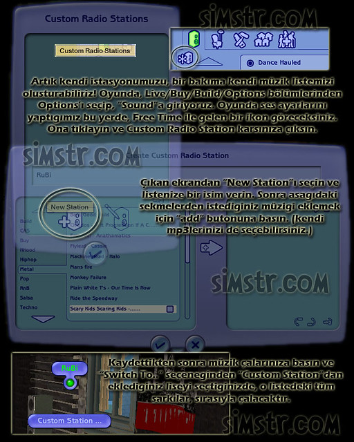 The Sims 2 FreeTime Radio Stations