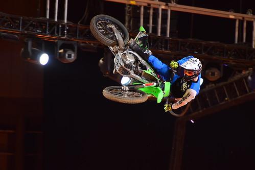 Nez Parker, FMX, Arenacross Tour, Sheffield 2018