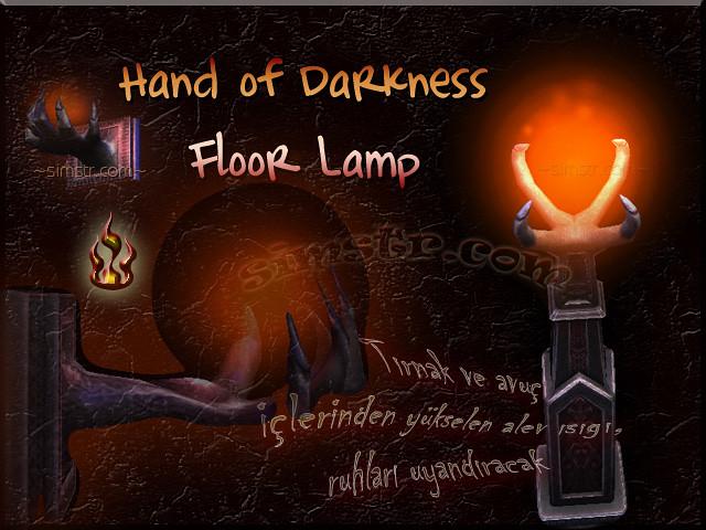 The Sims 2 Apartment Life Apartman Hayatı Witchiness Cadılık Hand of Darkness Floor Lamp