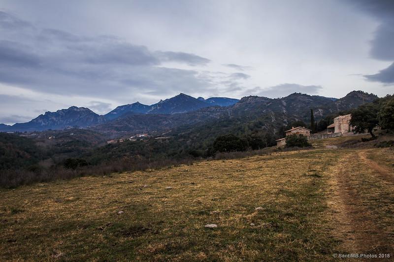 Sant Quirze de Pedret y la Serra de Queralt