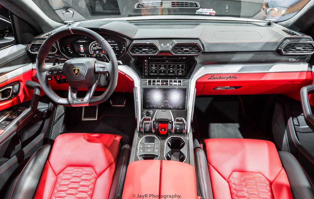 Urus Lamborghini >> Lamborghini Urus Interior | Very high-tech. | JayRao | Flickr