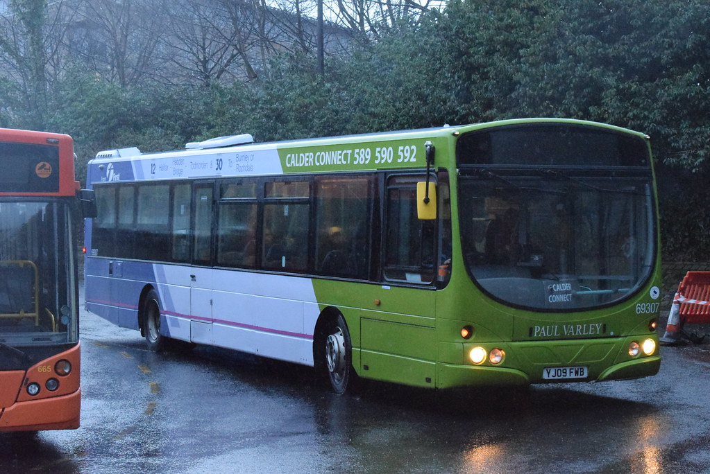 Fwy 69307 Halifax Bus Station First West Yorkshire