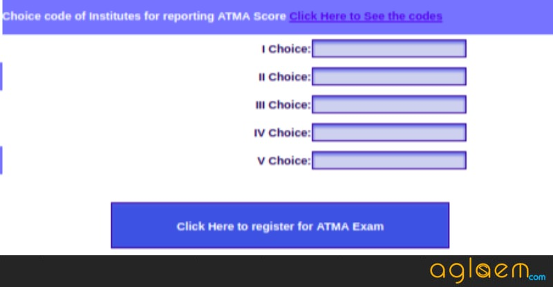ATMA 2018 Registration for May Exam - Click Here to Apply  %Post Title, %Post Category, AglaSem