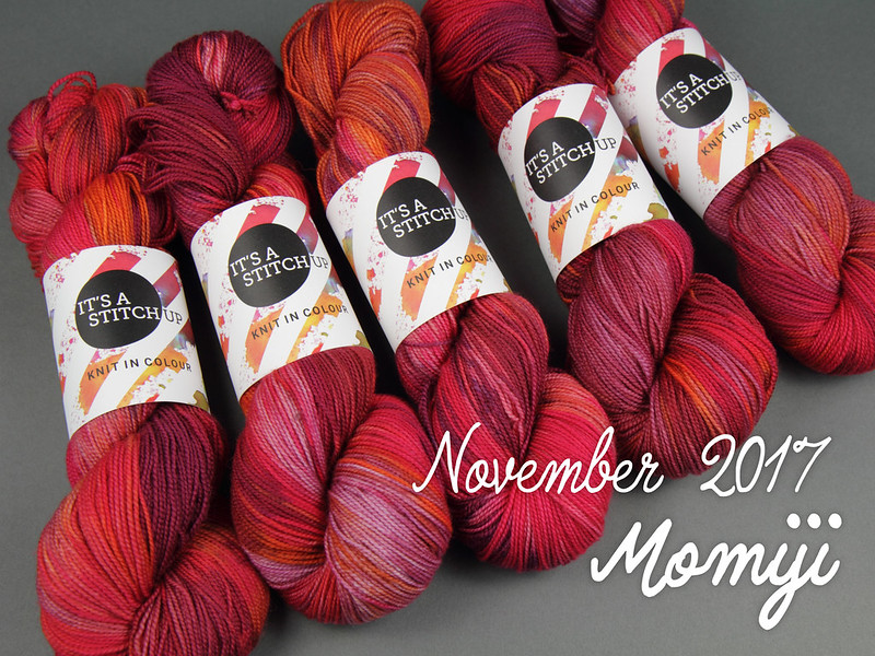 Yarn Club November 2017: 'Momiji'