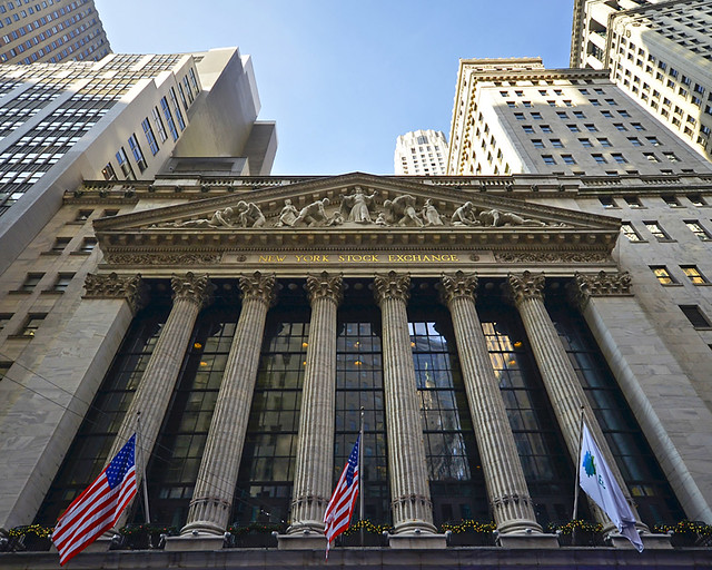 Bolsa de valores de Nueva York donde se rodó El Lobo de Wall Street