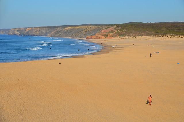 Praia de Bordeira, Algarve, Portugal