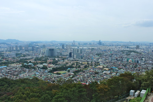 View from Namsan Hill, Seoul | by Timon91