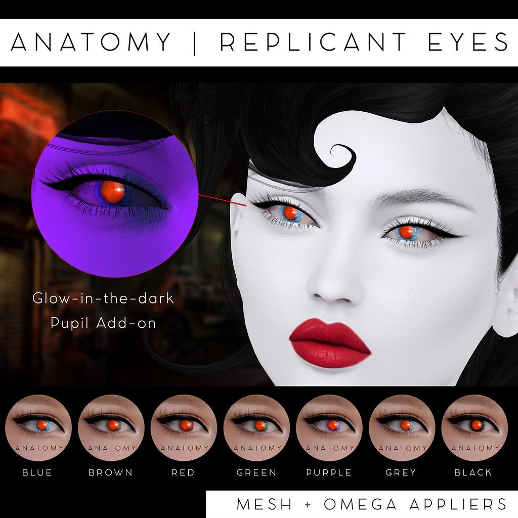 ANATOMY | Replicant Eyes @ Remnant | maps.secondlife.com/sec… | Flickr