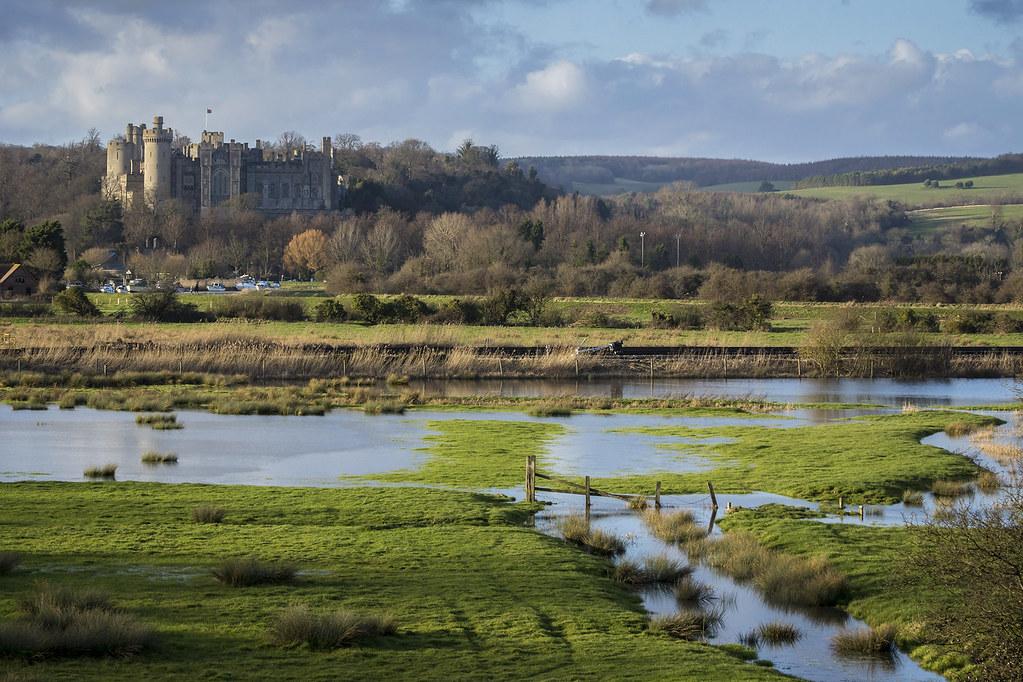 英國阿倫德爾(Arundel)濕地。Helen Haden(CC BY-NC 2.0)