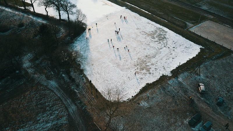 ijsbaan Glimmen