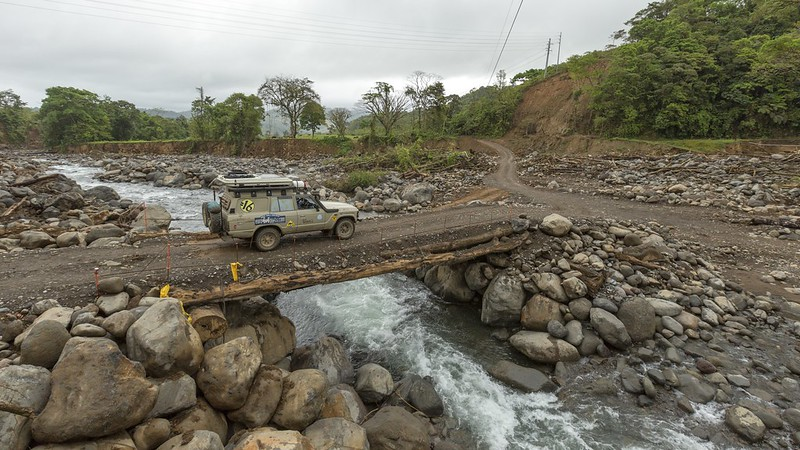 Traveling the Americas in a Toyota HJ61