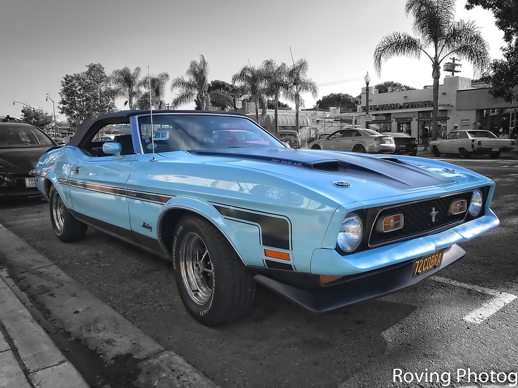 1972 ford mustang cobra by robtm2010