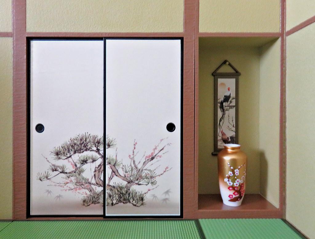 Charmant ... MurderWithMirrors Washitsu Chigaidana Staggered Shelf U0026 Washitsu  Oshiire Closet Sets | By MurderWithMirrors