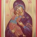 2018 Icône de la Mère de Dieu de Vladimir - The Vladimirskaya Mother of God Icon. Main de - Hand of Michèle Lévesque