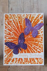 Sunny Butterfly Birthday by kcscrpbkr (Karen L K)