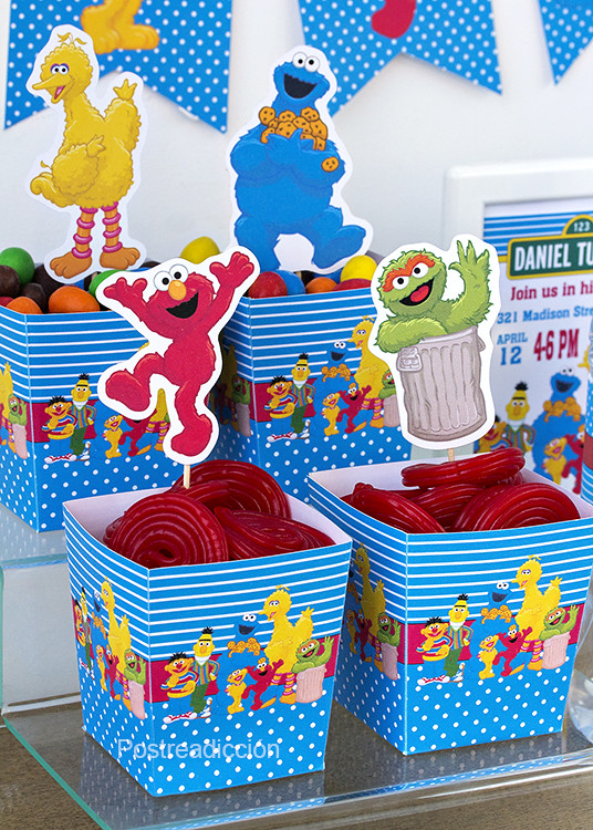 Sesame Street birthday party kit