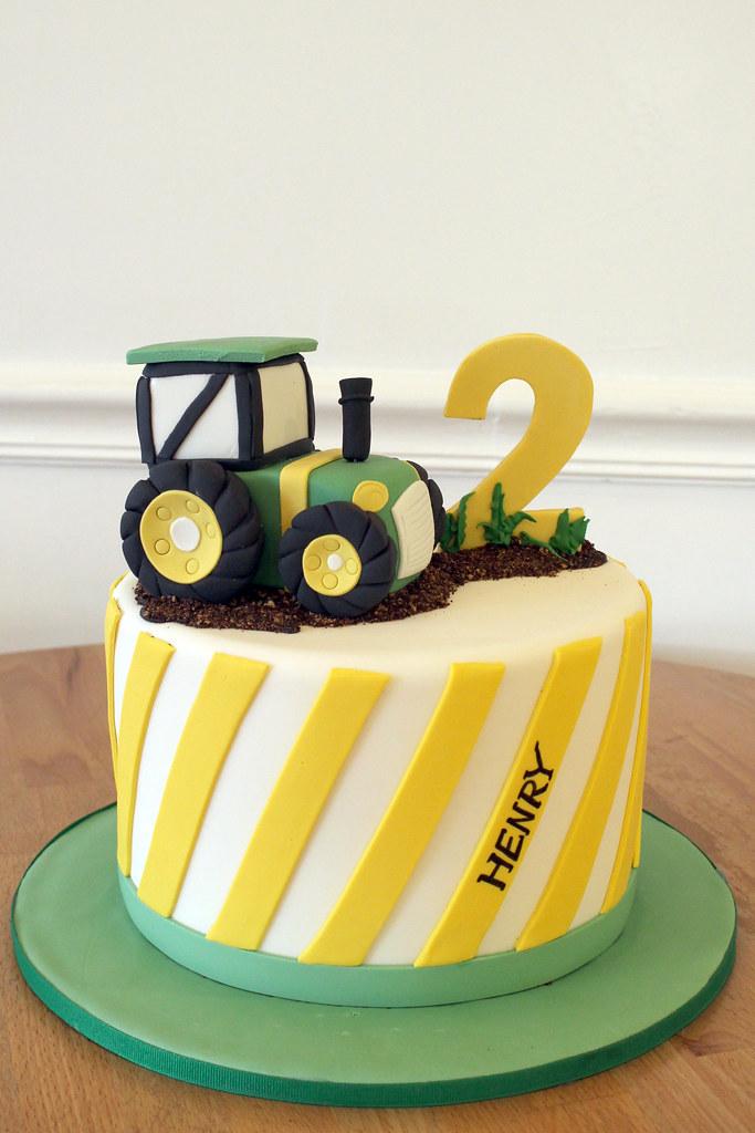 John Deer Tractor Birthday Cake Oakleaf Cakes Flickr