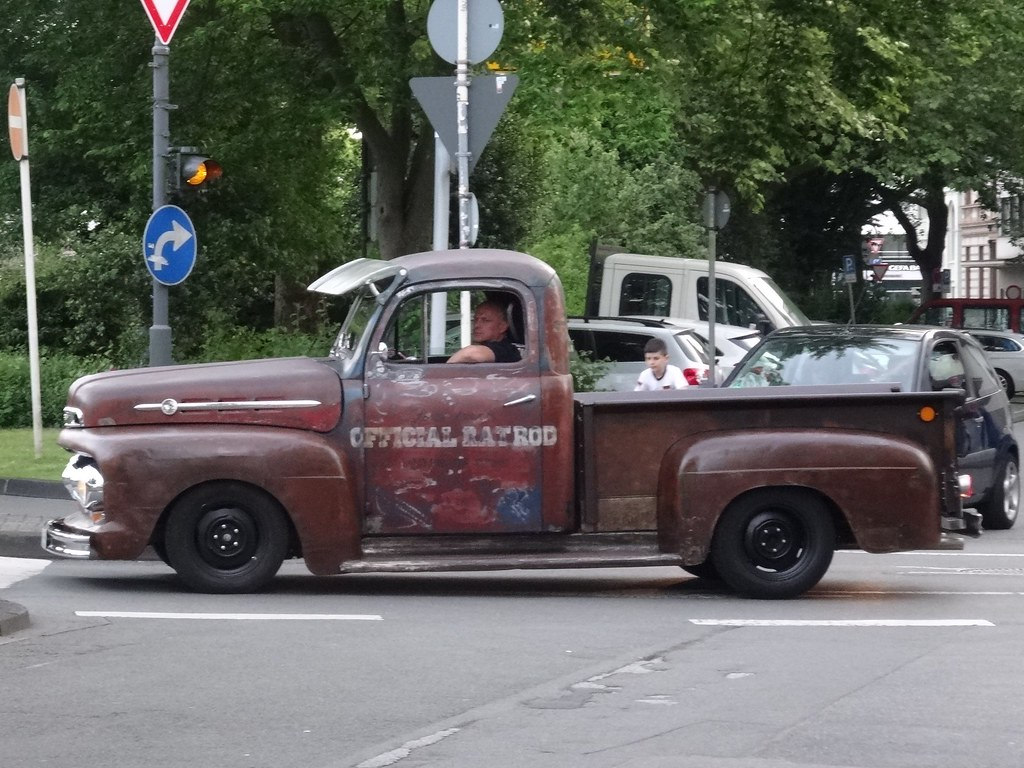 1950s Ford F Series Pickup This Official Ratrod Seems T Flickr 1950 To 1953 Truck By Harry Nl