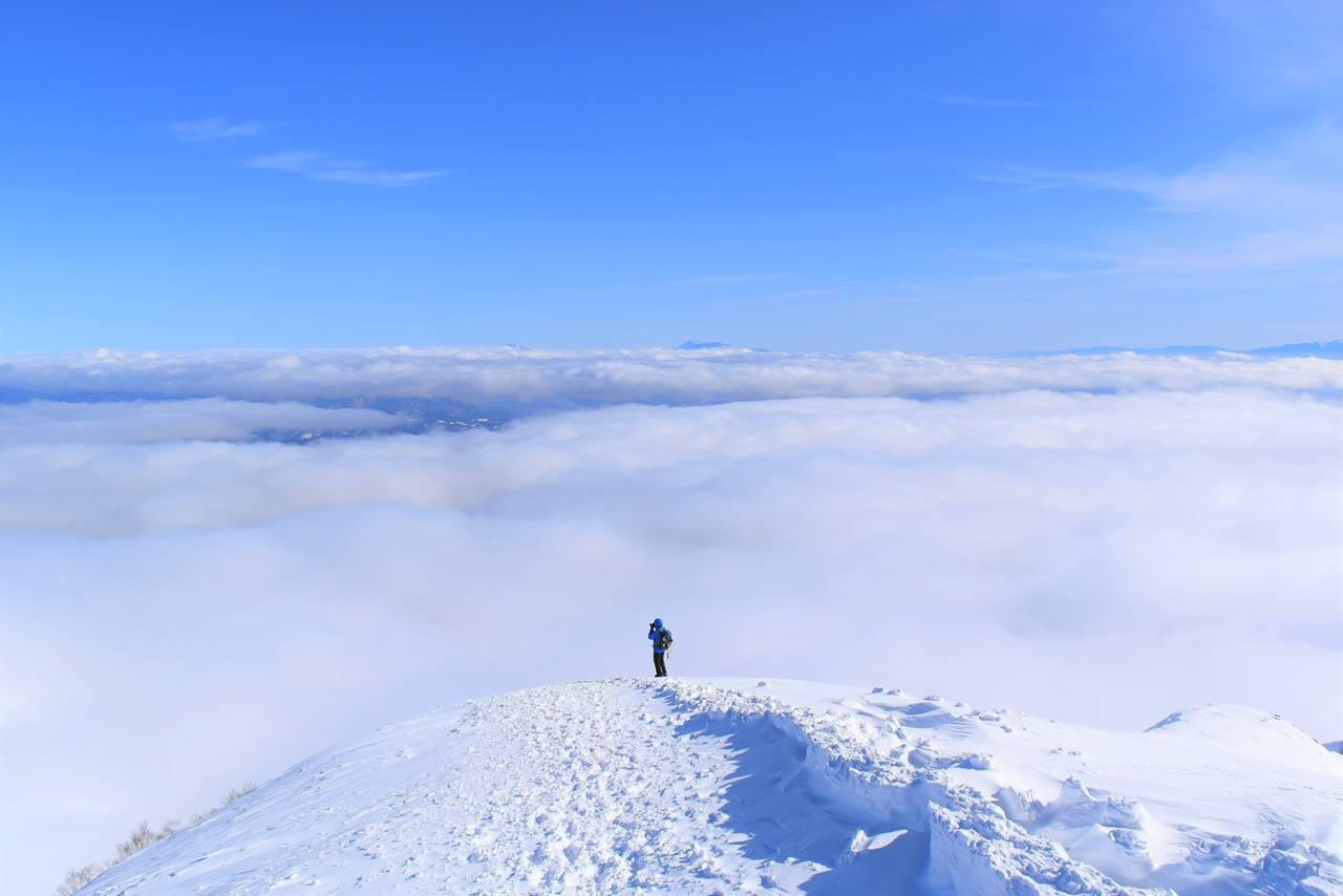 八方尾根からの雲海