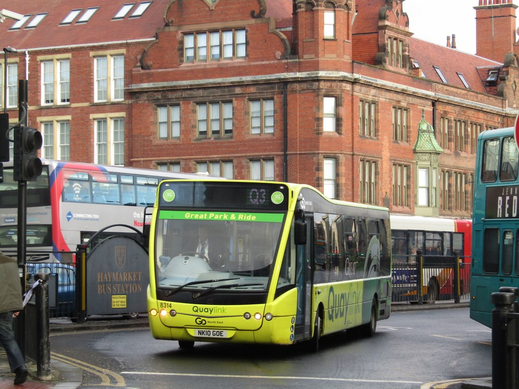 go north east 8314 nk10goe haymarket bus stn, newcastle on… | flickr