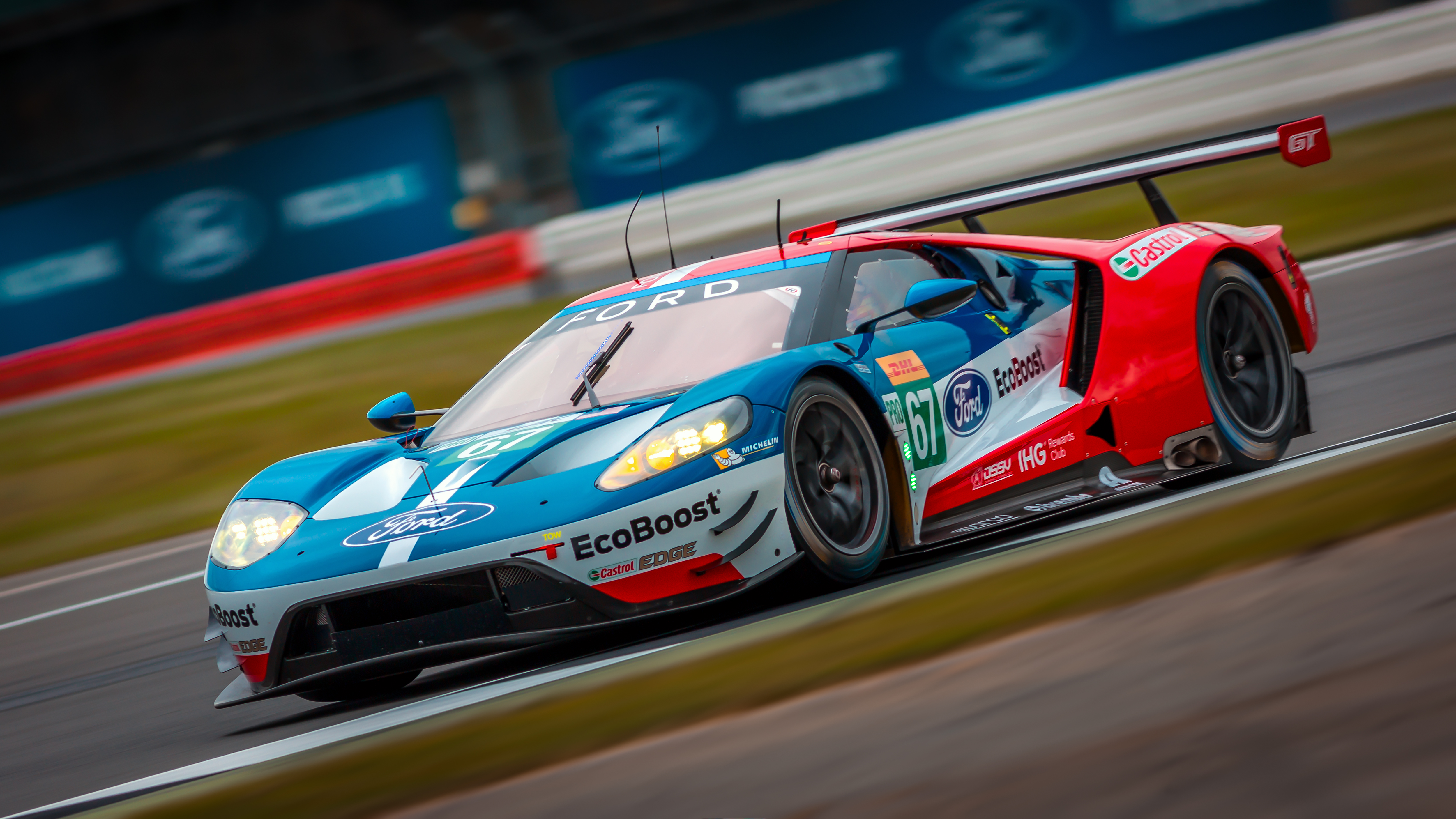 Oc Wallpaper Ford Chip Ganassi Team Uk Ford Gt  Original Res