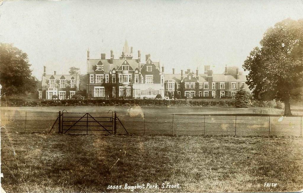 Bagshot Park A Property Of The Crown Estate Built 1877 79 Flickr