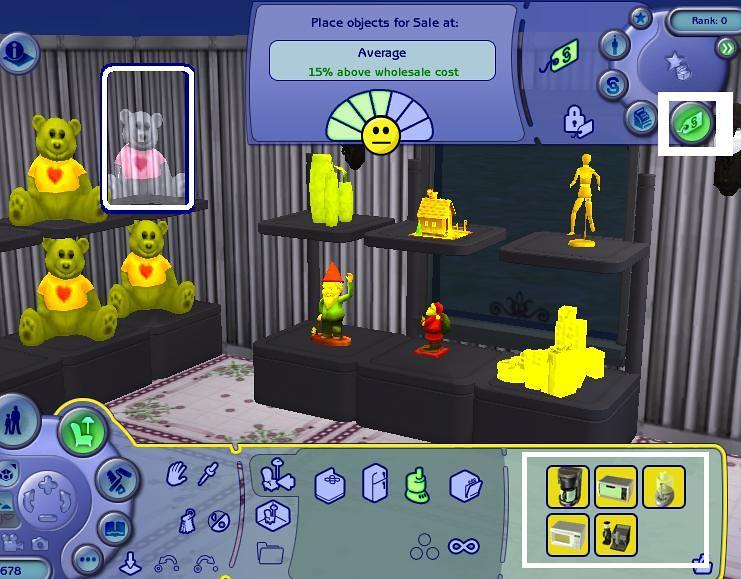 The Sims 2 Open For Business On Sale Not For Sale Tag Satılıktır Satılık Değildir Etiketi