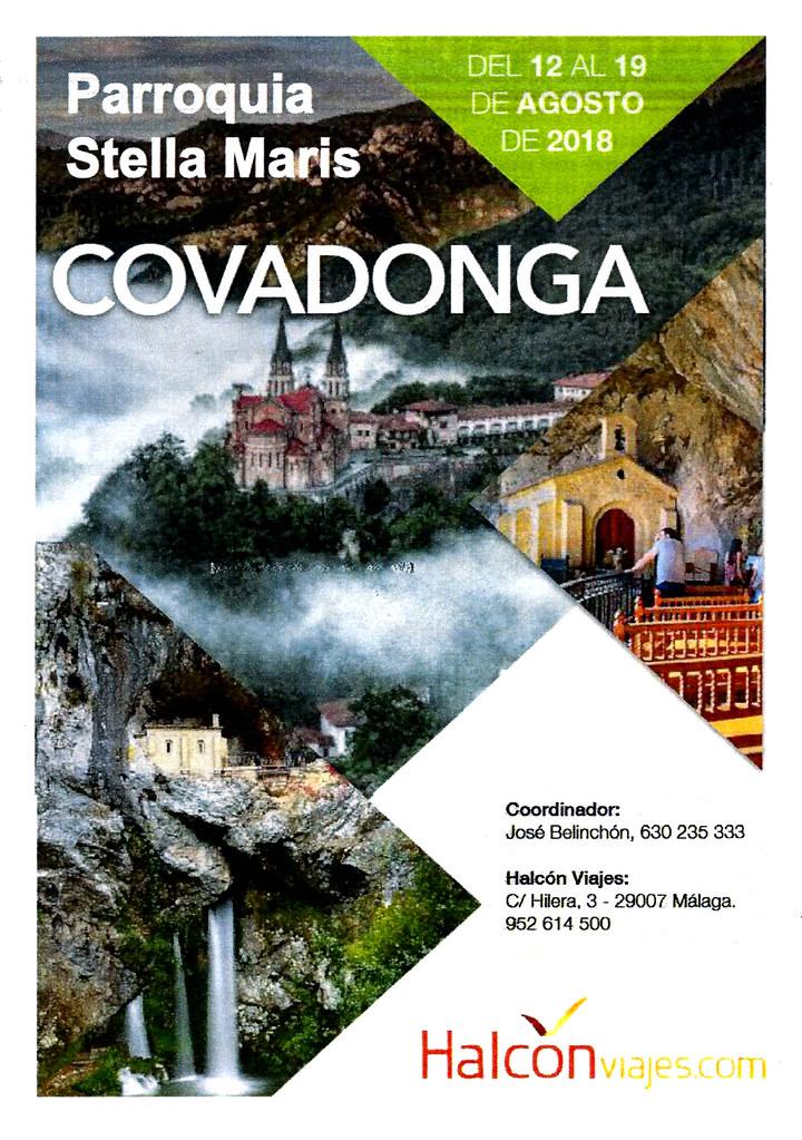 Peregrinación Covadonga 2018 - Parroquia Stella Maris Málaga