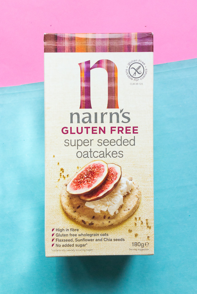 nairns gluten free super seeded oatcakes