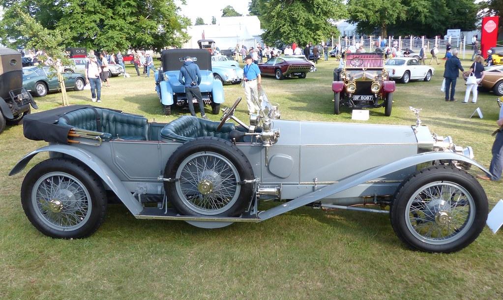 New Rolls Royce >> Rolls-Royce Silver Ghost London-Edinburgh Record Car 1911 ...