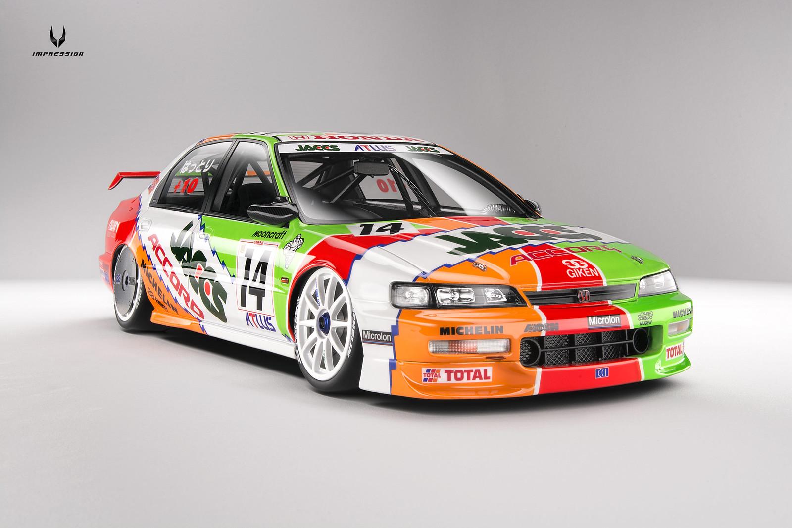 1 18 Honda Accord Jtcc 1996 14 Jaccs Inno Models Diecast