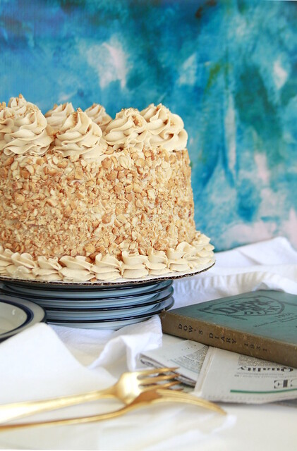 Buffalo Peanut Stick Cake