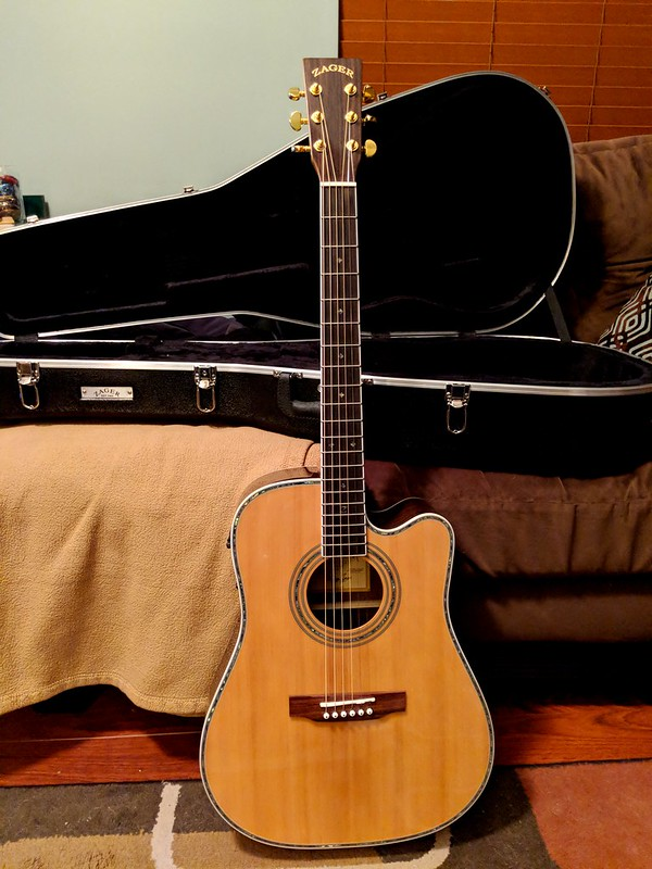 The New Guitar And A Small Observation About Being A Dick Whatever