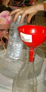 foto 22 b trasferimento dell'aria dai polmoni alla bottiglia