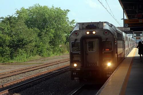 Tåget till New York.