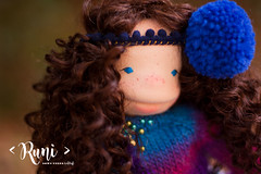 Runi - 13 inch Natural Fiber Art doll by Down Under Waldorfs