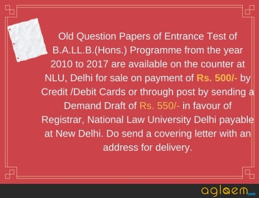 AILET - Entrance Exam Dates, Application Form, Fee, Eligibility