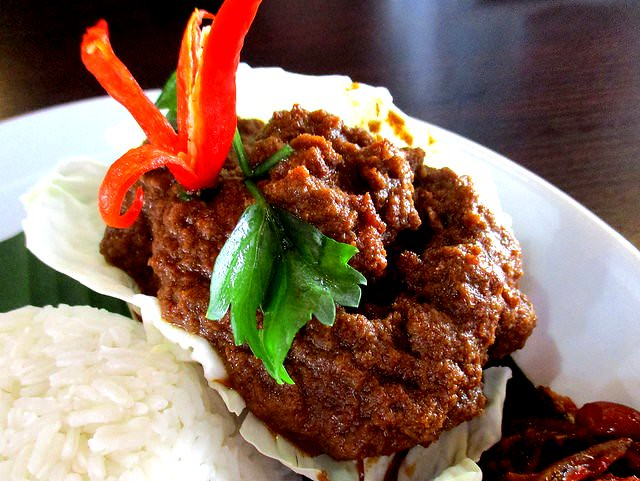The Cafe Ind beef rendang