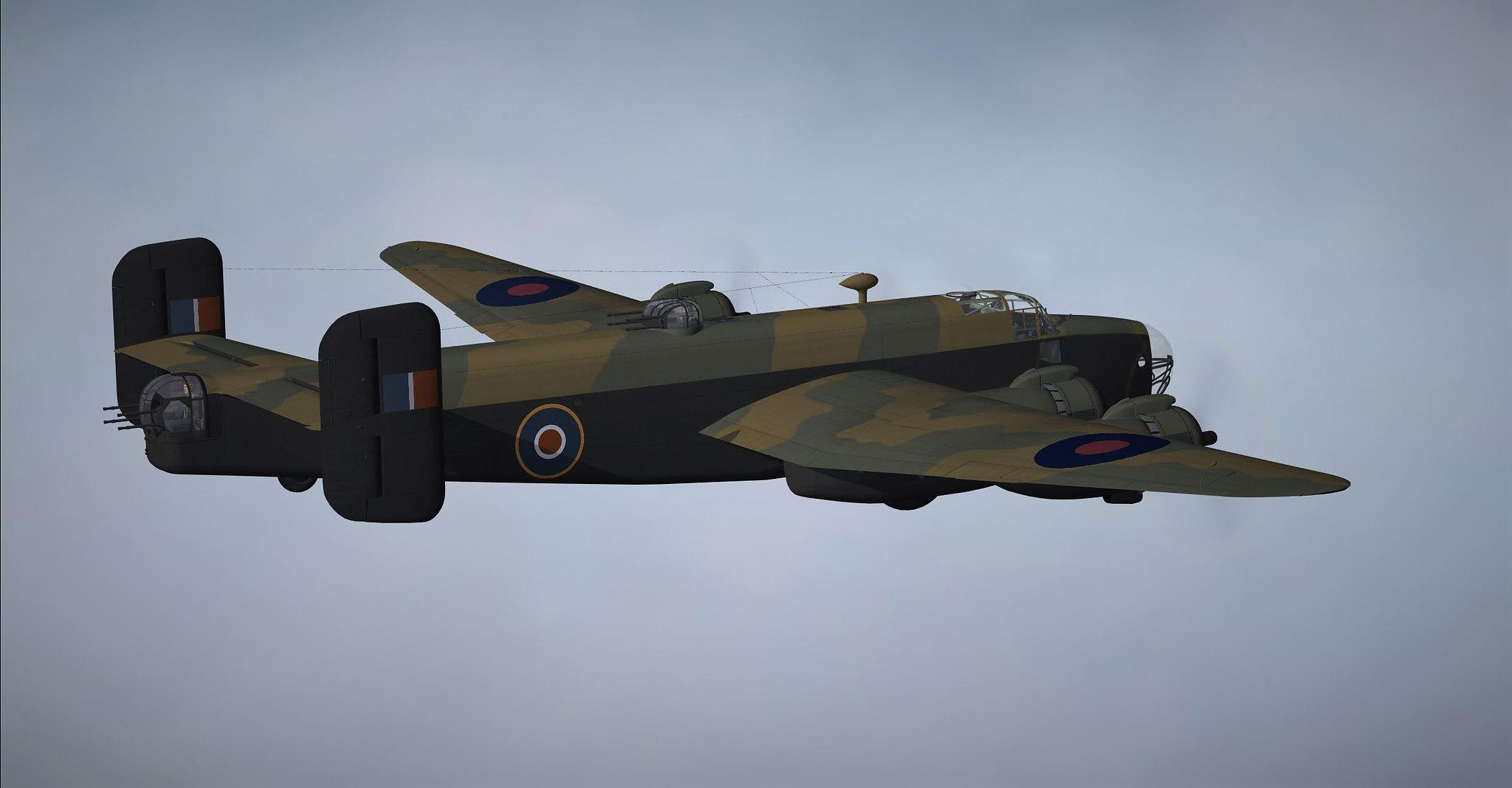 FR Handley Page Halifax WIP