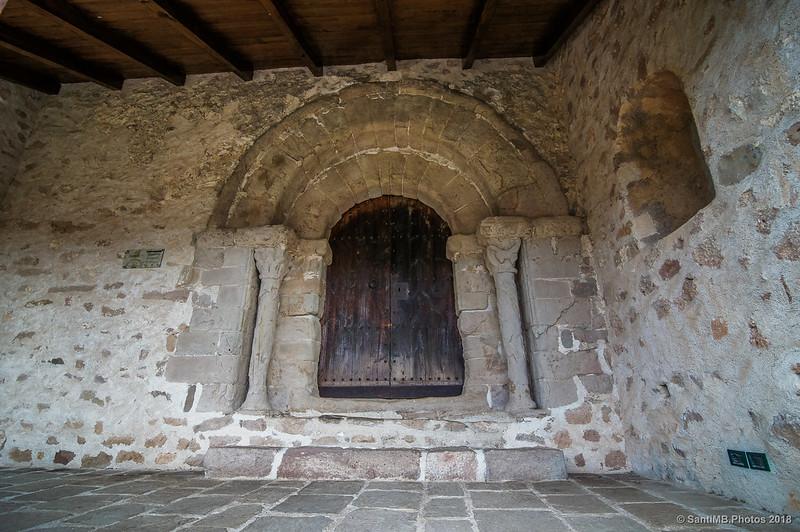 Puerta de Sant Quirze de Pedret
