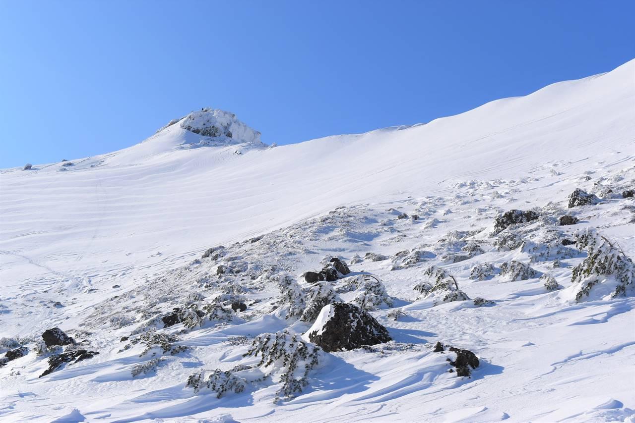 安達太良山 山頂の乳首