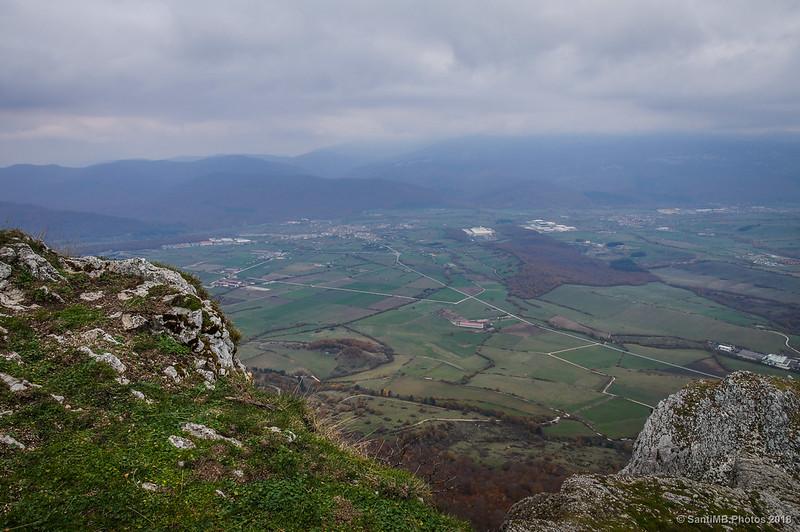 Valle de la Sakana desde San Adrián de Lizarraga