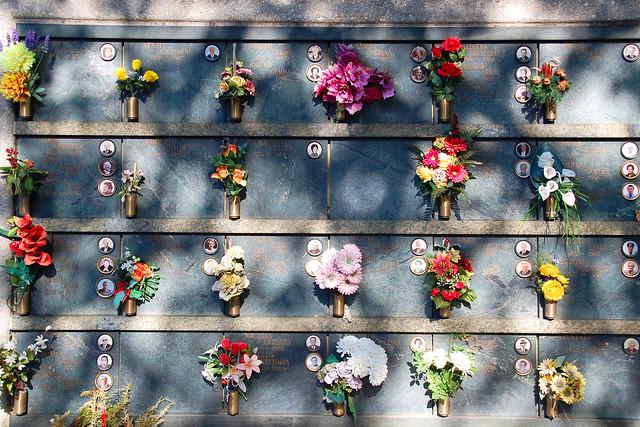 Friedhof Bellinzona (Tessin, CH) - Nischengräber - Foto: Brigitte Stolle, Mannheim