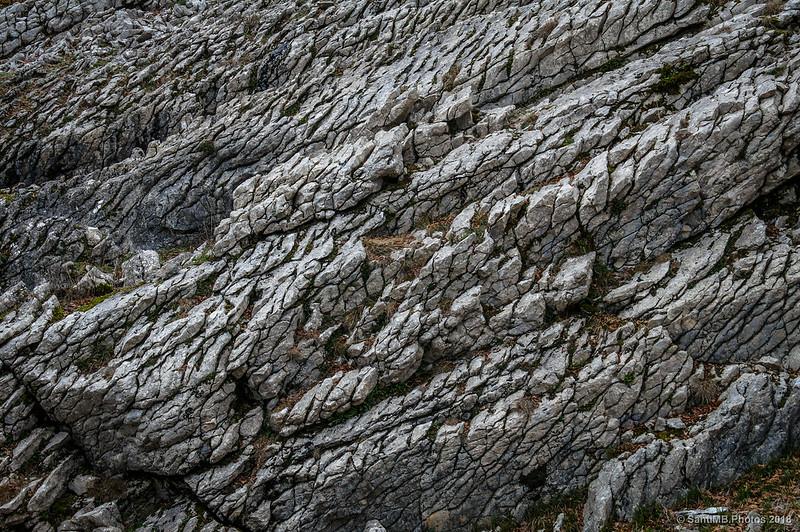 Roca en el camino de Sant Adrián de Lizarraga al camino de Eskitza