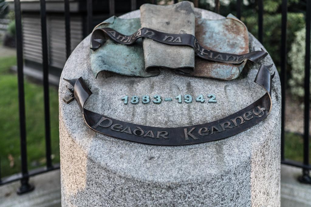 MEMORIAL TO PEADAR KEARNEY [1883 - 1942] 002
