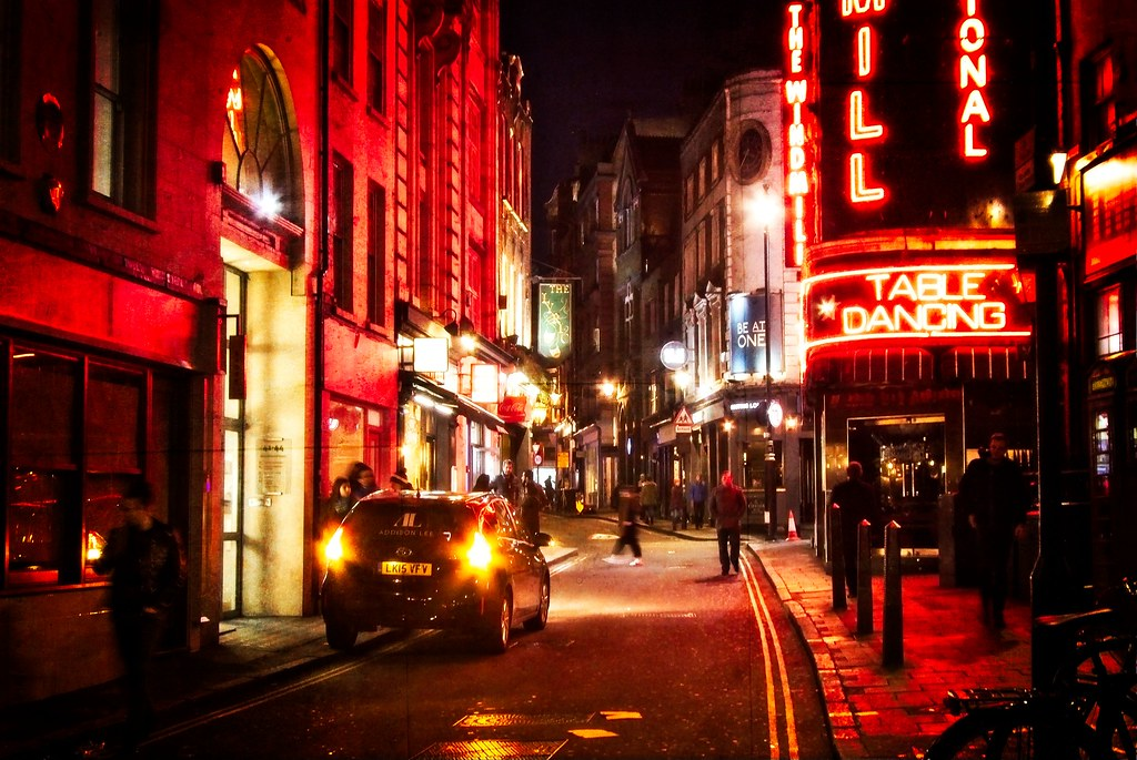 Red Light District Of London