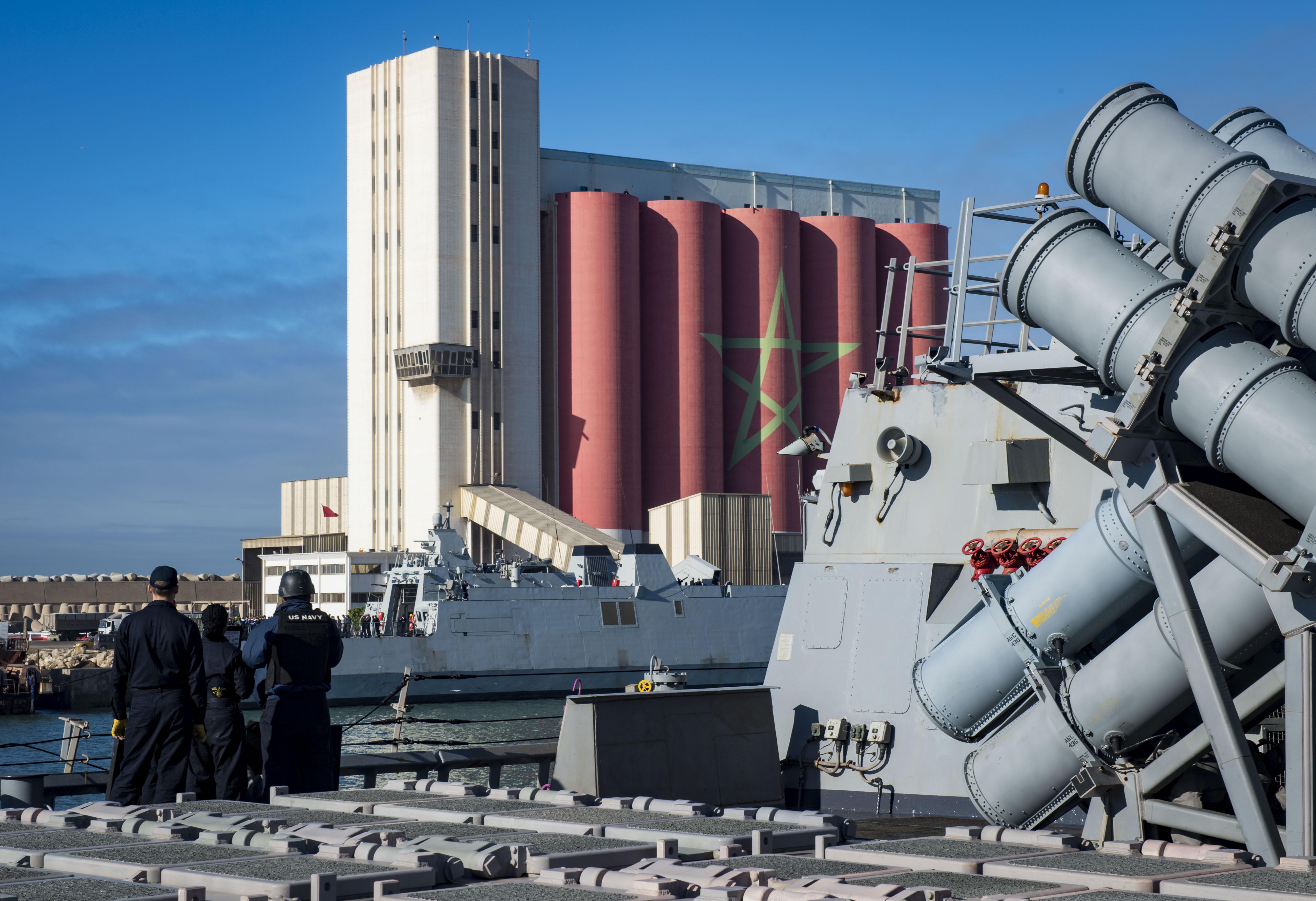 USS Ross - RMN Tarik Ben Ziad  24798454197_abf28907e4_o
